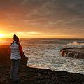 wild atlantic way at dusk