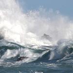 wild atlantic way stormy sea