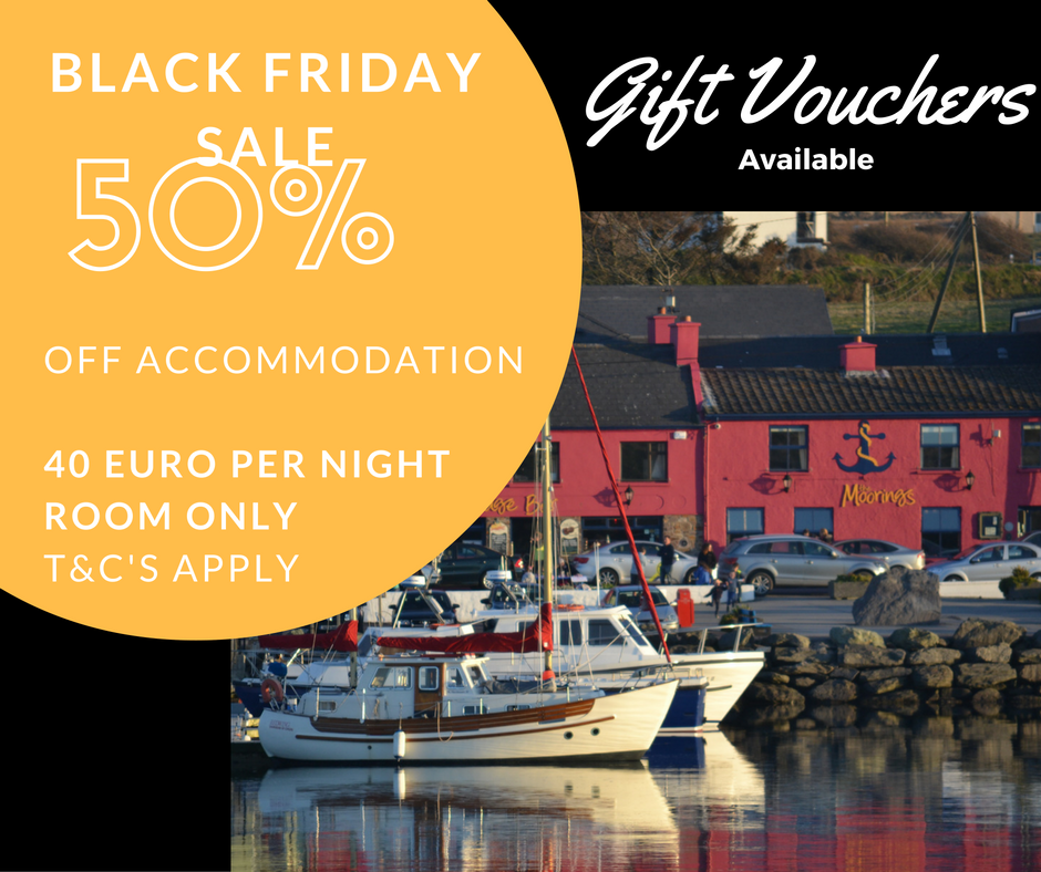 Black Friday Sale at The Moorings
