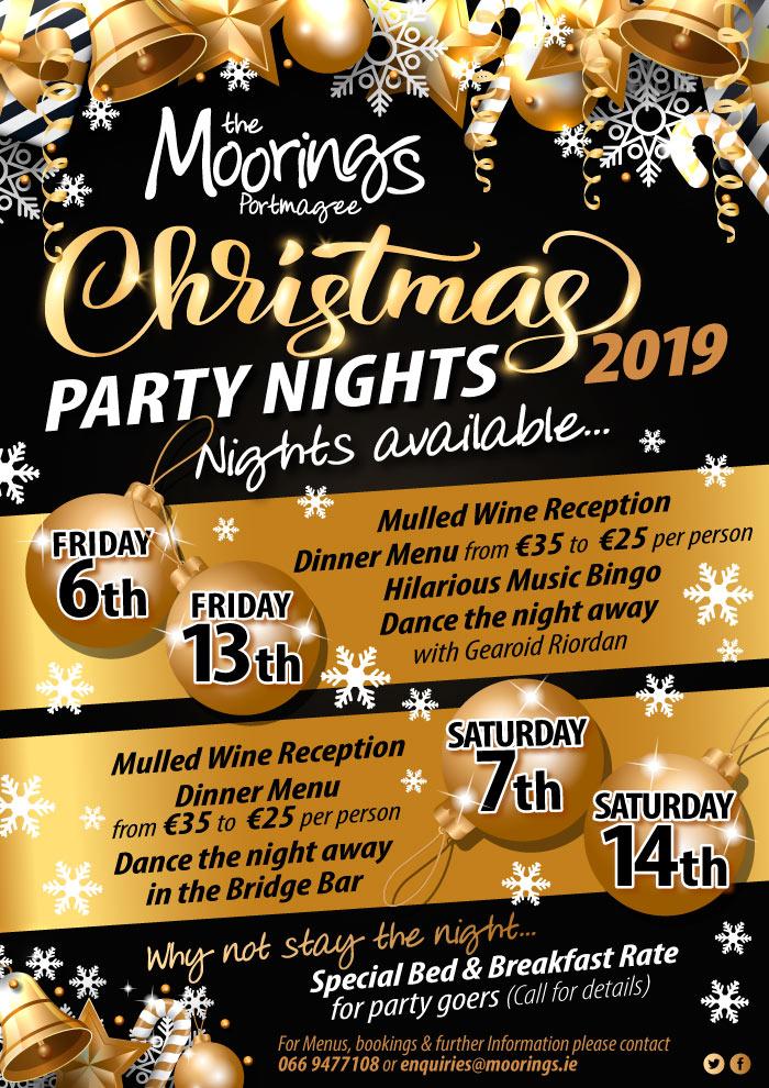 Moorings Christmas Parties