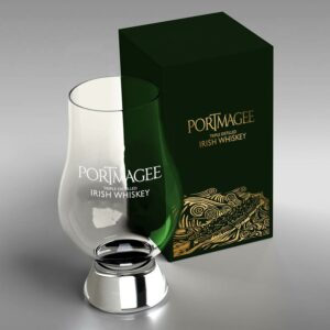 Portmagee Whiskey branded glass